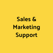 Sales & Marketing Support