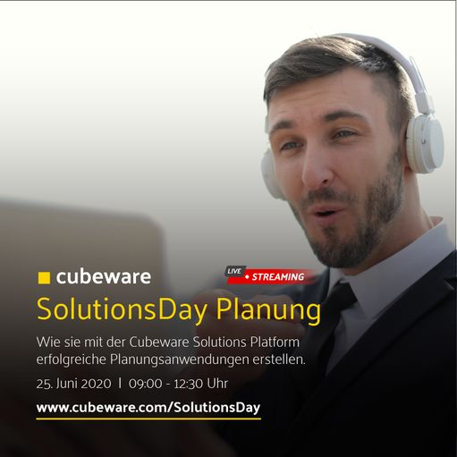 Cubeware organizes first SolutionsDay planning together with partners
